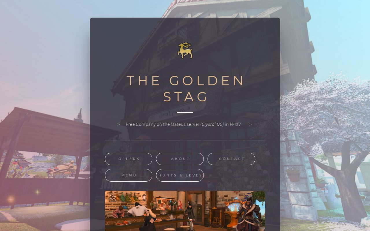 The Golden Stag FC Site